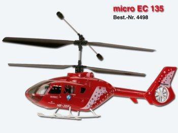 Micro EC135 Bodyshell